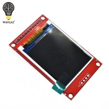 WAVGAT 1.8 inch TFT LCD Module LCD Screen SPI serial 51 drivers 4 IO driver TFT Resolution 128*160 1.8 inch TFT interface(China)