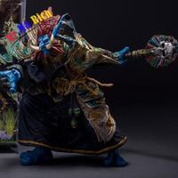 20cm Troll Priest: Zabra Hexx Action Figure
