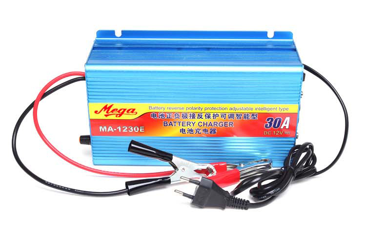 Free shipping! 220V to 12V Car Battery Charger 30A Boat Bicycle Lead-acid Battery Charger stp80nf70 80nf70 st 80a 70v to 220