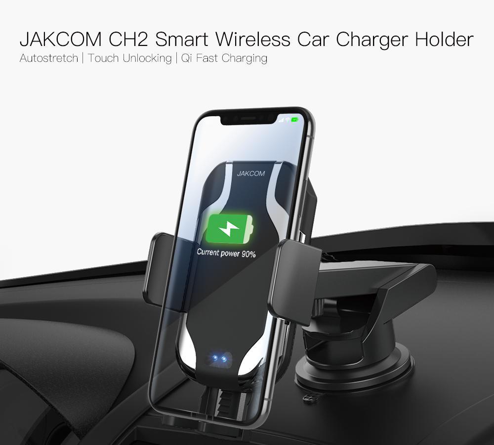 Jakcom ch2 carregador de carro sem fio