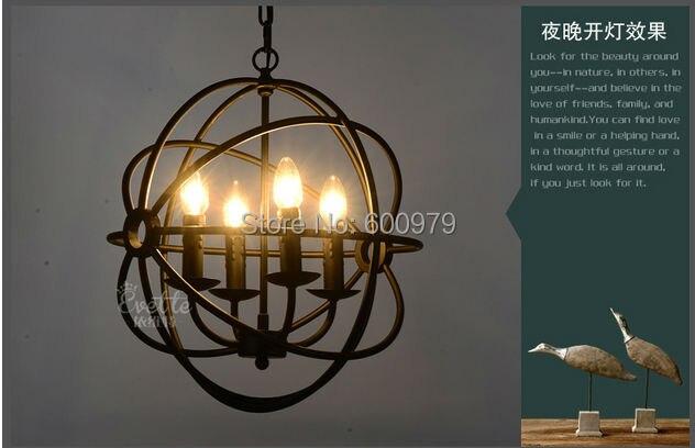 Lampadario Rustico Sospensione : Rh illuminazione d epoca lampada a sospensione foucault s orb