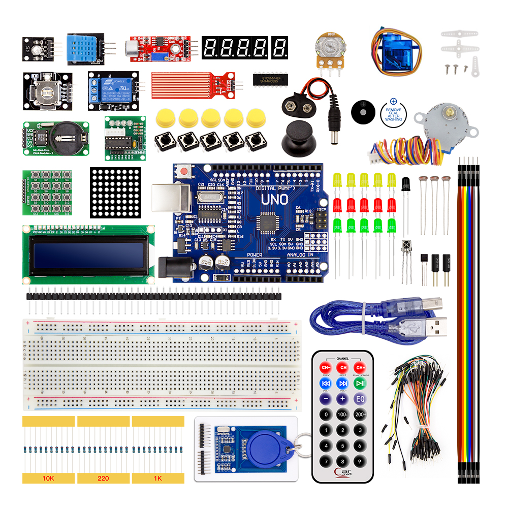 RFID Starter Electronic DIY Kit for Arduino UNO R3 Upgraded Version Learning Sui