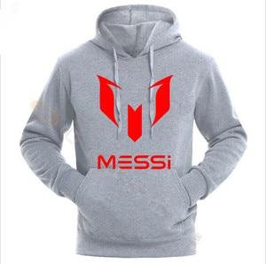 Image 2 - Lionel Messi Voetbal Hoodie Unisex Volwassen Argentinië Barcelona Hoody Jeugd