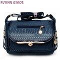 FLYING BIRDS! women leather handbag messenger bags shoulder bag brand women handbag high quality women's pouch mom bag LS4495fb