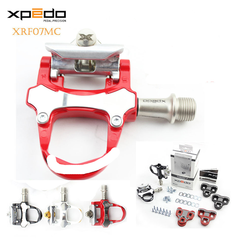 Wellgo xpedo XRF07MC Magnesium alloy Road Bicycle clipless Pedals with 2 pairs look keo Compatible cleats