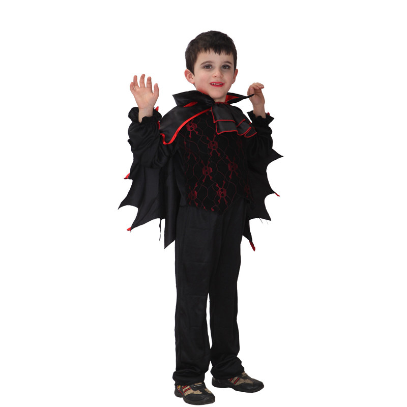 VASHEJIANG Vampire Costume For Children's Day Halloween Costume for Kids Children Costumes for Boys Childrens Fancy Dress