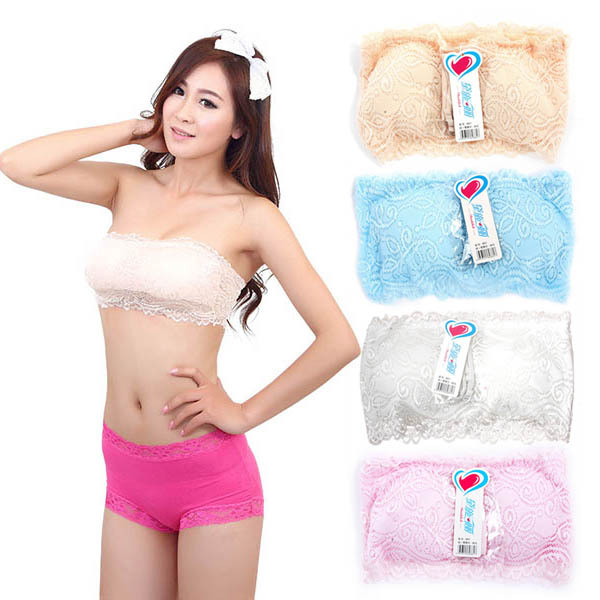 Online Buy Wholesale girls bandeau bra from China girls bandeau ...