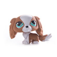 цена LPS Pet Shop Toys Dolls Cat Cocker Spaniel Dog Collection Stand Action Figures High Quality littlest Model Toys Gift Cosplay Toy онлайн в 2017 году
