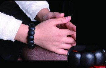 Bracelet Jade Noir Pour Femme 6