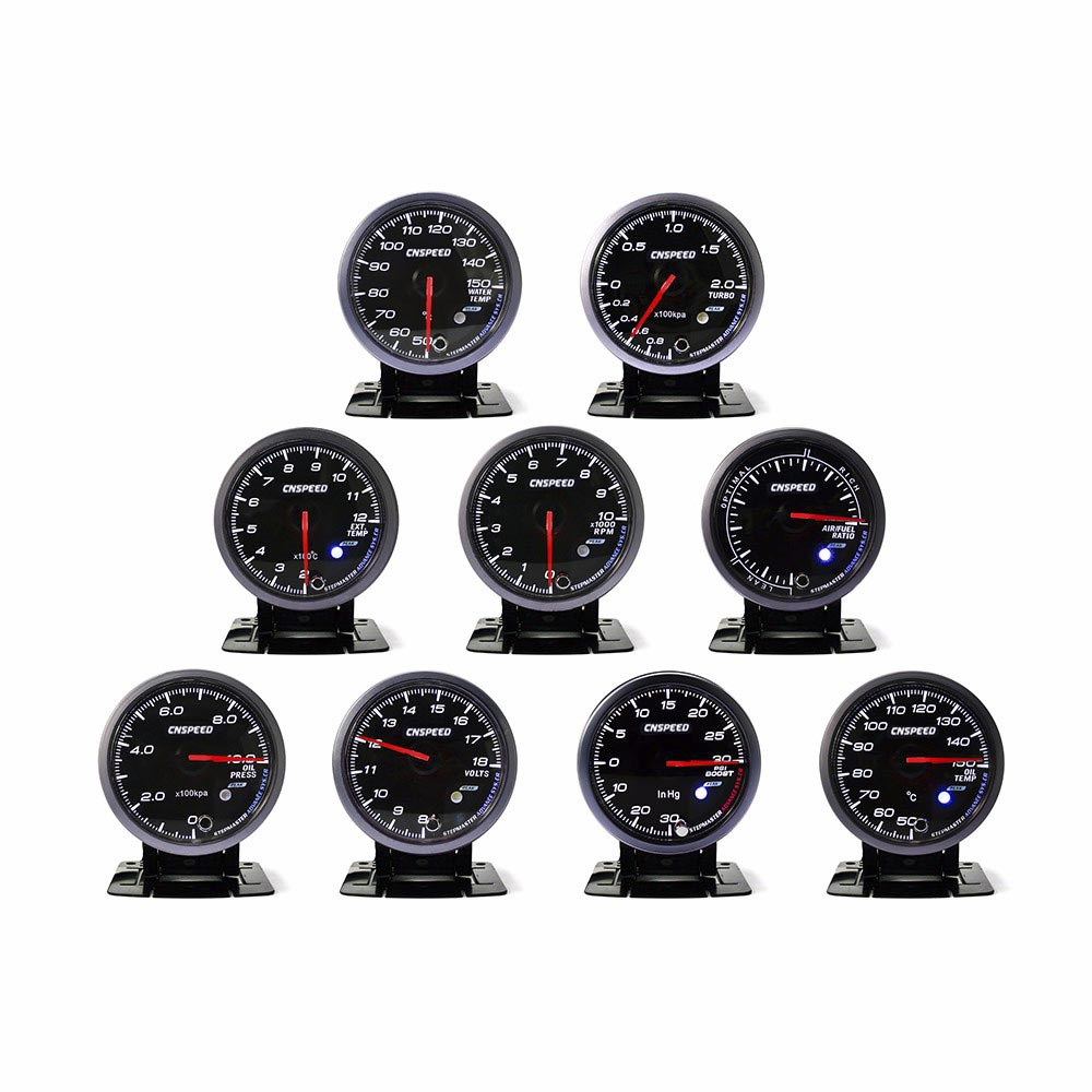 цена на CNSPEED turbo boost gauge bar ,water temperature ,oil temperature ,oil pressure ,tachometer ,volt exhaust gas gauge