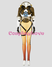 Game Tracer Cosplay Costume Female/Women/Girls/Lady Halloween Cosplay d.va Zentai Catsuit Custom Spandex Digital
