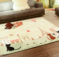 130*185cm 185*185cm Carpets for children play Bedroom Carton Living room Large Cats Party coral fleece salono Parlor Rugs DT055