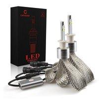 Cob LED CREE XHP 50 Chip 40W H1 Led DRL Spot Lights 12 24V Car Led