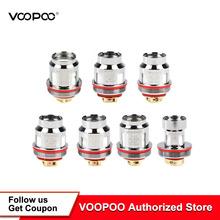 5 sztuk paczka VOOPOO Uforce cewki 0 13ohm N1 0 2ohm N3 0 4ohm U2 0 6ohm P2 głowy cewki dla Uforce T2 zbiornik przeciągnij 2 przeciągnij mini tanie tanio VOOPOO Uforce Coil VOOPOO Uforce Tank DS Dual