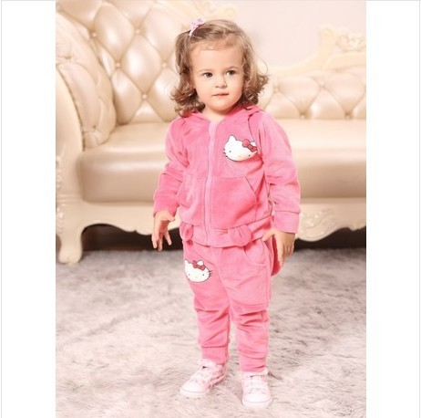 Free Shipping Children Suit Princess 1 2 Years Old Baby Clothes Two