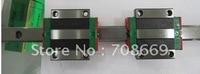Brand Linear Guide HGR20R800mm rail+2pcs HGW20 CA Flange Blocks
