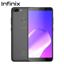 Infinix HOT 6 PRO смартфон 32G 3g двойная задняя камера Qualcomm Snapdragon 6,0 «экран сотовый телефон Android 8,0