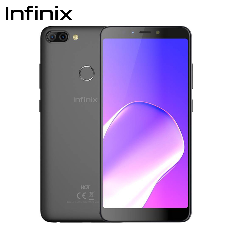 """Infinix HOT 6 PRO SmartPhone 32G 3G Dual Rear Camera Qualcomm Snapdragon 6.0"""" Screen cell phone Android 8.0"""