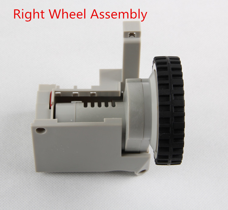 Robot vacuum cleaner For A320 A325 Right Wheel Assembly for cleaner a320 a325 a330 a335 a336 a337 a338 360 degrees front wheel assembly for robot vacuum cleaner 1pcs pack