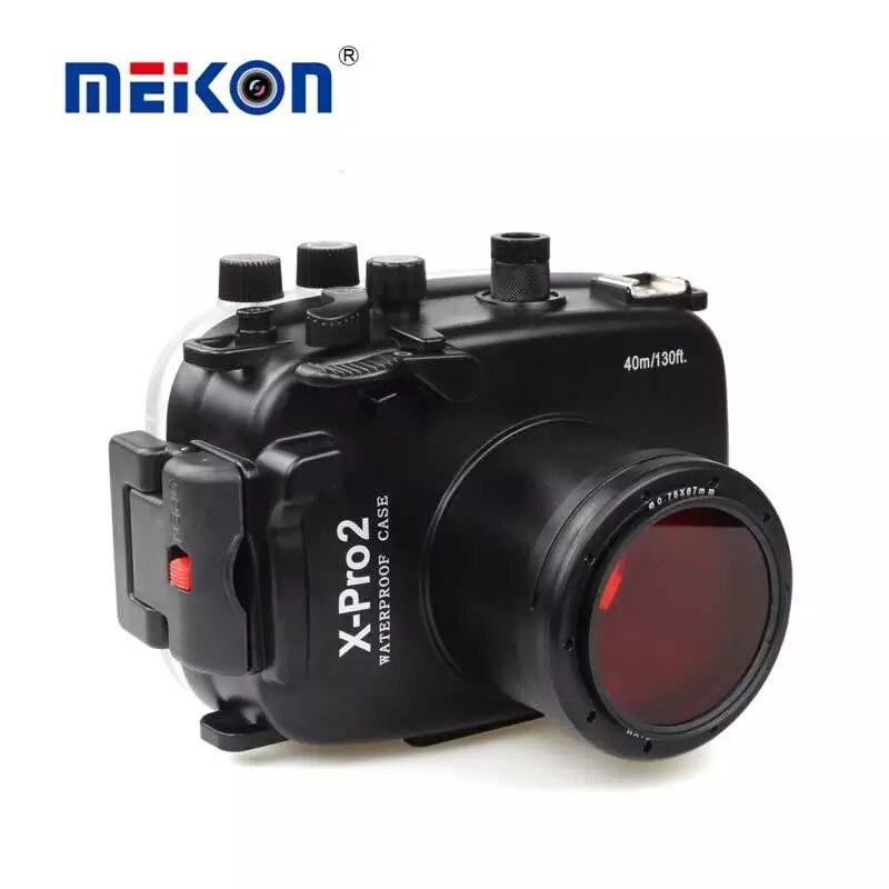 Boîtier étanche pour appareil photo de plongée sous-marine étui rigide pour objectif Fujifilm Fuji x-pro 2/xpro 2/xpro2 Mark II 16-50mm 35mm