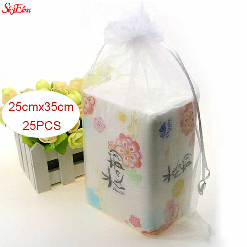 Large Organza Bags For Wedding Favor