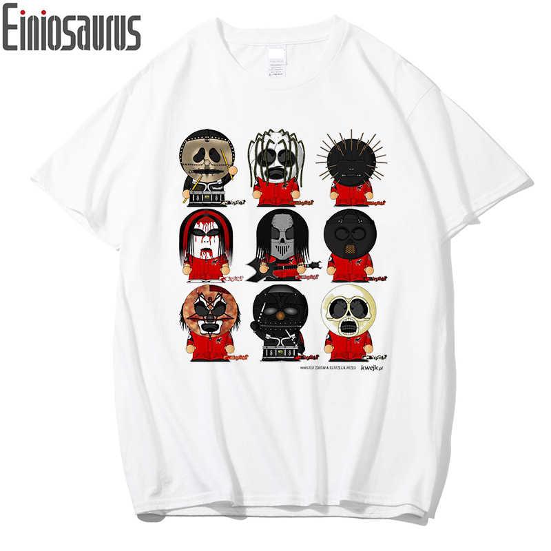 brand new d8065 997ed Neue Slipknot T Hemd Männer Casual Druck T-shirt Hip Hop Baumwolle Lustige  T shirts Herren Kurzarm T Streetwear