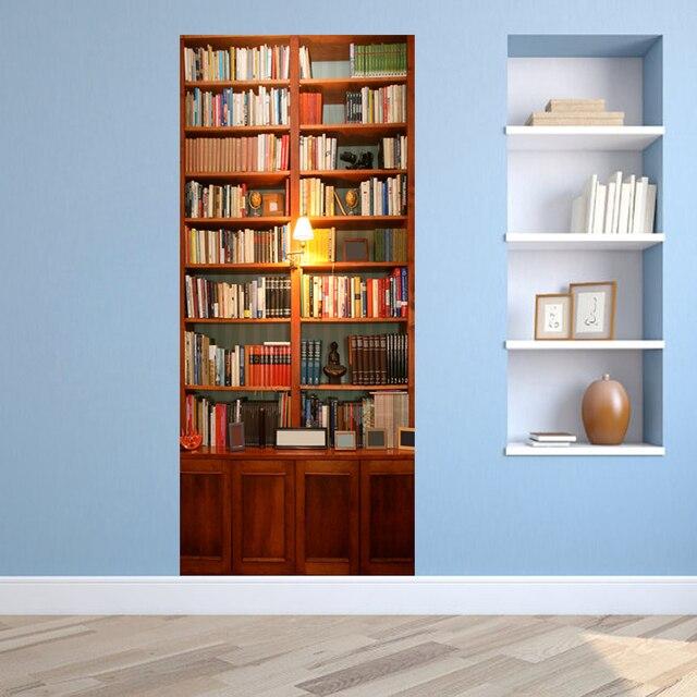 3d porta murales sticker book shelf libreria porta murale carta da