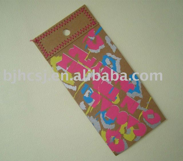customized  hang tag for garment