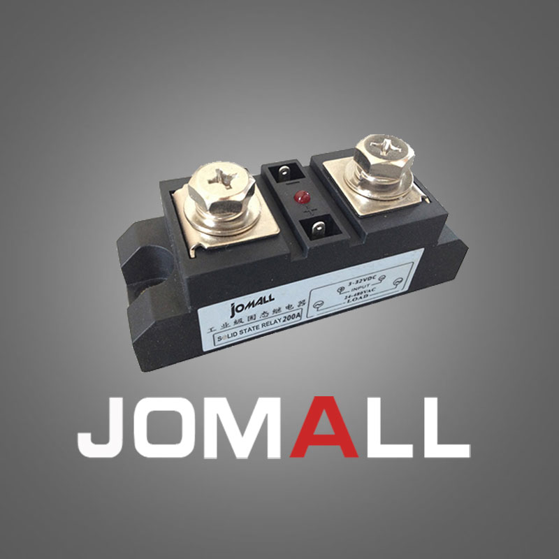 60A Industrial SSR Single-phase Solid State Relay 60A Input 4-32VDC Output 24-680AC high quality ac ac 80 250v 24 380v 60a 4 screw terminal 1 phase solid state relay w heatsink