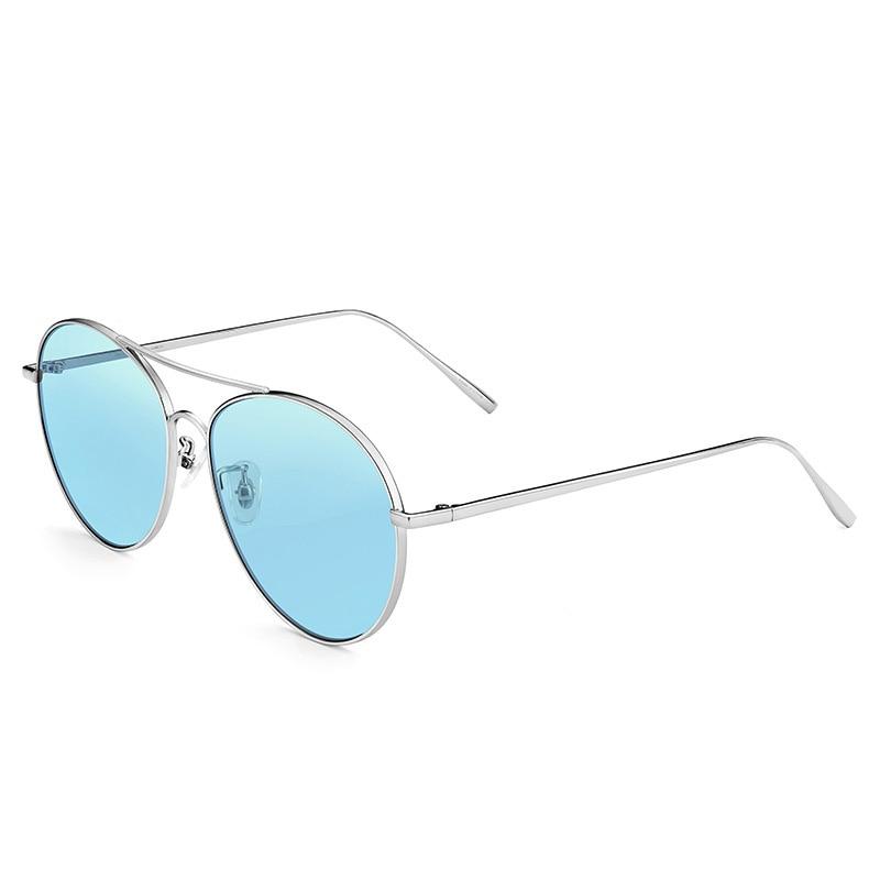 Polarisierte Sonnenbrille De Oculos Runde 2019 Outdoor Marke Gelb Fahren Designer Männer Frauen Uv400 Luxus Vintage Sol dO55gq