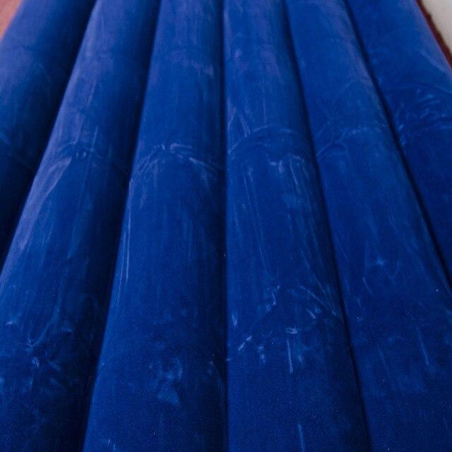 INTEX 68755 183*203*22CM Double personne utilisation flocage et rayure lit dair matelas gonflable Ultralarge matelas gonflable matelas de Camping