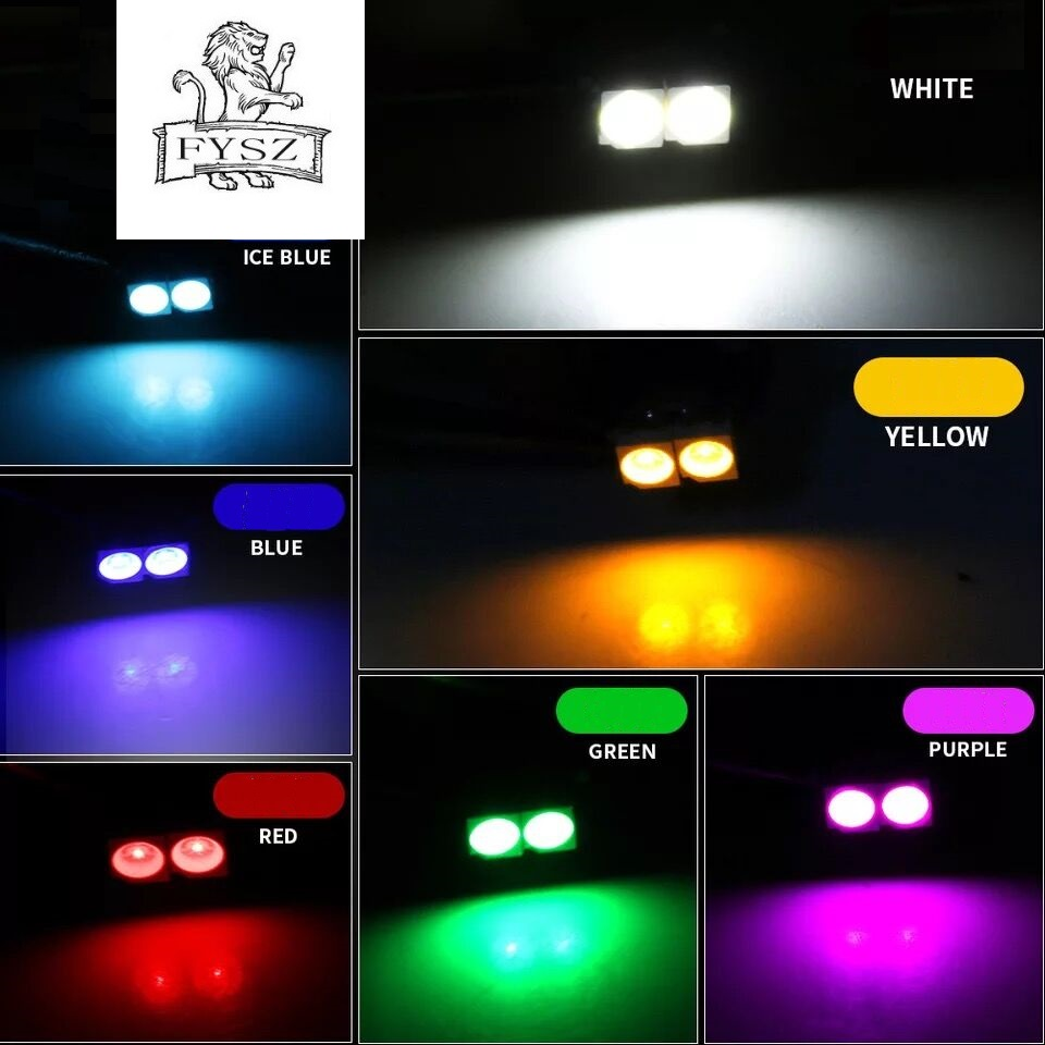 Image 5 - 10Pcs T3 T4.2 LED 3030 SMD Car Cluster Gauges Dashboard White Ice Blue Red Pink Green Red Instruments Panel Light Neo Wedge Bulb-in Signal Lamp from Automobiles & Motorcycles