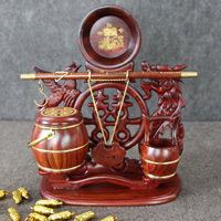 Chinese Rosewood Art Set for Art Wedding gifts Painting Calligraphy Supplies Traditional Gift