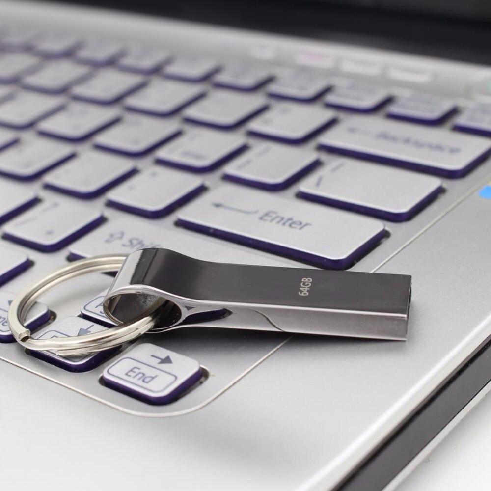 Hot koop nieuwe usb flash drive 4 GB 8 GB 16 GB 32 GB 64 GB 128 GB - Externe opslag - Foto 2