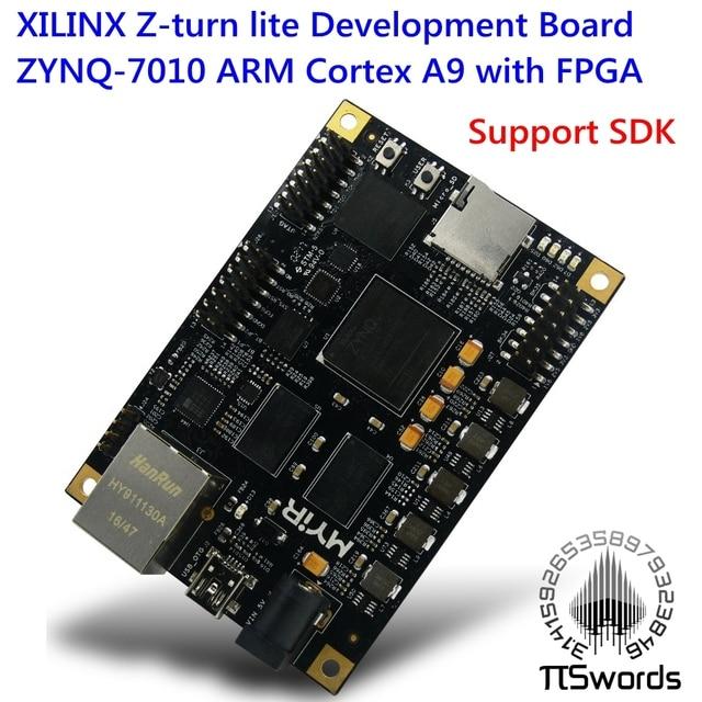 XILINX Z-turn lite ZYNQ-7010 ARM Cortex A9 with FPGA dual core Development Board Control Board XC7Z010 develop Board