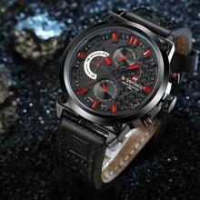 NAVIFORCE מקורי יוקרה מותג צבאי קוורץ שעון גברים של שעון אנלוגי שעון יד עמיד למים שעונים relogio masculino
