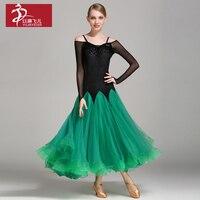 2017New woman Competition ballroom Standard dance dress dance clothing stage ballroom dress