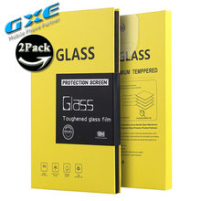 GXE Tempered Glass (9H/ 0.25D/ 0.26mm) For Lenovo K80 Vibe S1 P1 P1M P2 P70 P90 S580 S90 Screen Protecter Film 2PCS/lot(China)