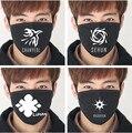 2017 máscaras de moda kpop EXO KPOP EXO-M EXO-K XOXO wolf88 modelos negras Anti mufla focinho de algodão máscara de poeira do respirador