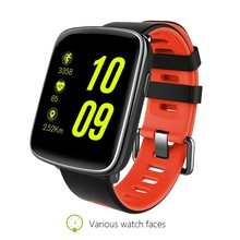 Fashion GV68 IP68 waterproof Smart Watch Bluetooth 4.0 SmartWatch Wearable device With Heart Rate monitor for iPhone Samsung HTC