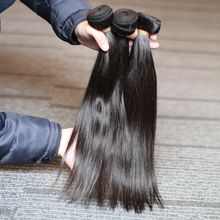 Rosabeauty Natural Color Brazilian Hair Weave Bundles Straight Unprocessed Human Hair Products 6 30 28 30 Inch Raw Virgin Hair