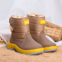 Winter Boots For Girls Shoes 2017 New Kids Boots Boys Girls Boots High Quality Children Shoes Waterproof Outdoor Snow Boots