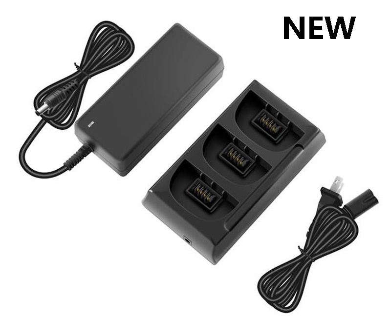 New Upgraded Parrot Bebop 2 Power Battery Charging Hub High Capacity Version 3in1 Charger Manager 90 mins Fast Filling