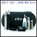 Duplo ego ce4 + kits de cigarro eletrônico ego com ce4 atomizador MT3 evod e vaporizador MT3 e cigarro ego t evod bateria