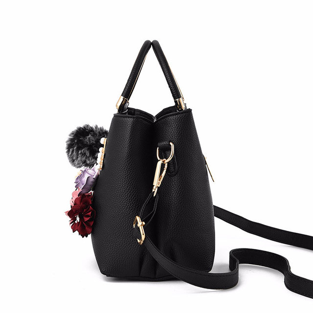 AEQUEEN Sac A Main Femme Color Flowers Shell Women's Tote Leather Clutch Bag Small Ladies Handbags Brand Women Messenger Bags 3