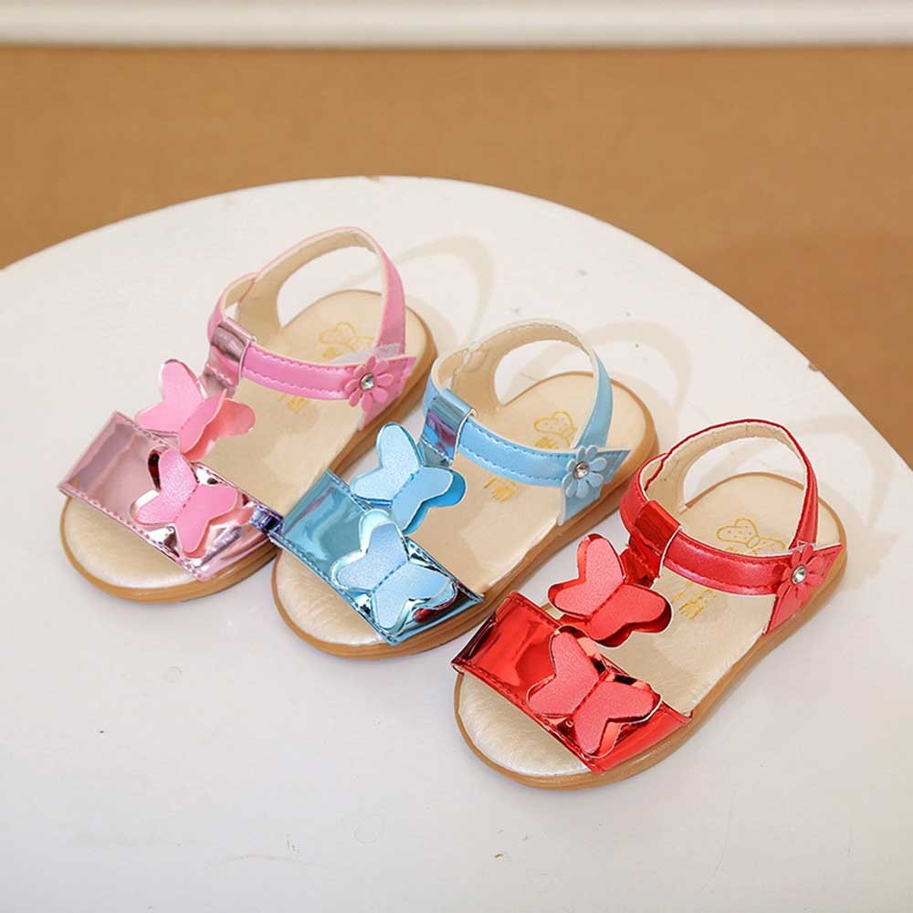 b85c735abf2b87 Girls Sandals Children s shoes Bowknot Non Slip Sandals Sneaker Pricness Casual  Single Shoes Girls kids summer shoes  M-in Sandals from Mother   Kids on ...