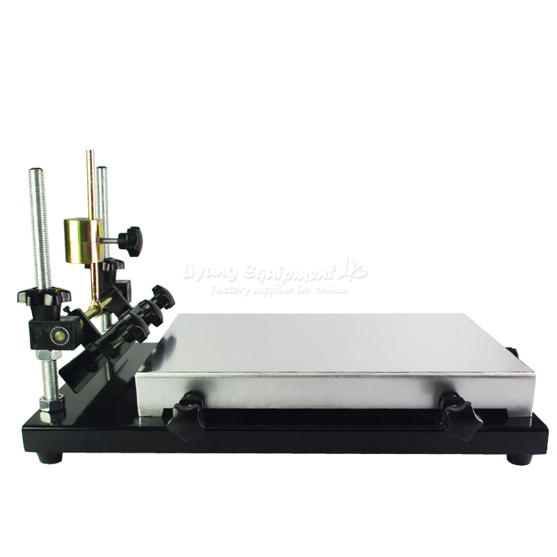 Glue Printing Solder Machine Stencil Silkscreen And Read Paste Adjustment Printer Table Manual
