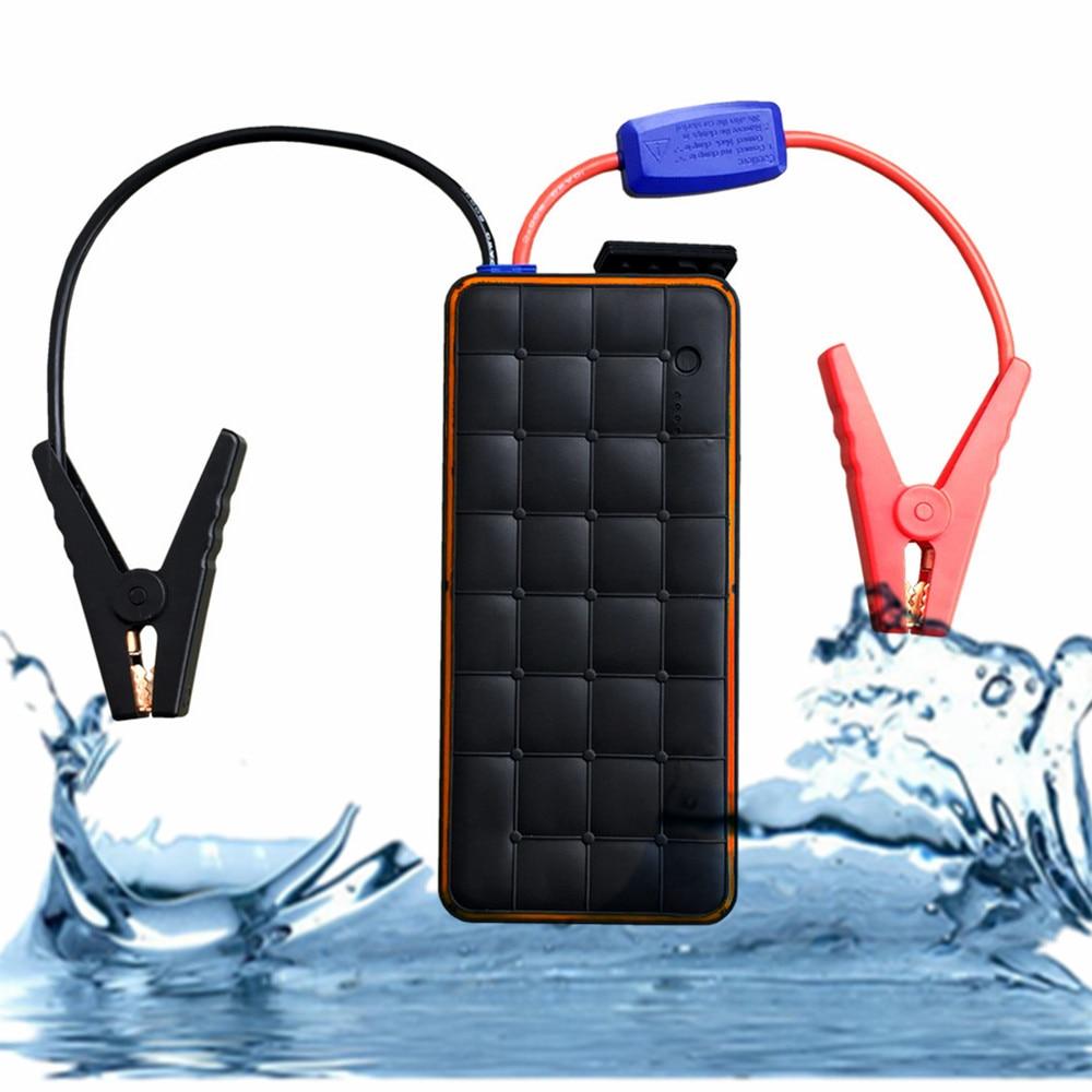 Многофункциональный 28000mAh Автомобильное зарядное устройство для аккумулятора автомобиля 1000А Водонепроницаемый стартер пусковое устройство мобильного питания для прикуривателя Банка