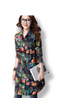 women long blouses