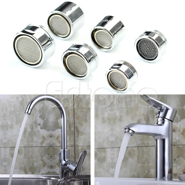 Free Shipping Water Saving Kitchen Faucet Tap Aerator Chrome Male ...